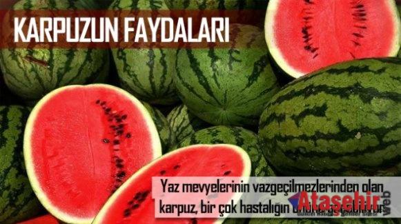 KARPUZUN 8 ÖNEMLİ FAYDASI!
