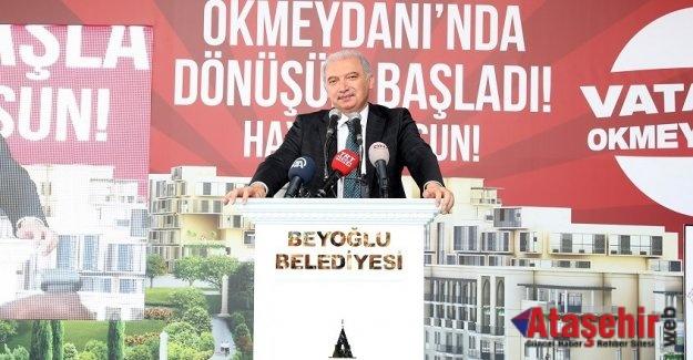 OKMEYDANI'NDA KENTSEL DÖNÜŞÜM BAŞLIYOR