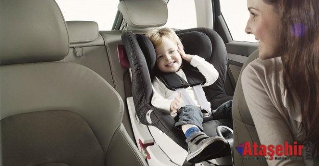 Tatil yolunda araçta çocuk güvenliği için öneriler!