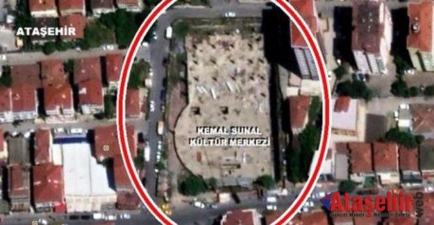 Ataşehir Kemal Sunal Kültür Merkezi için  5. kez ihaleye yapılacak