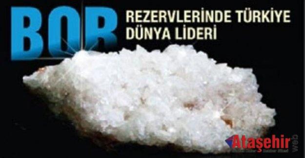 """""""Dünya Bor Rezervinin %73'ü Türkiye'de Bulunuyor"""""""