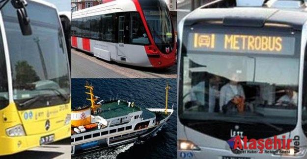 KURBAN BAYRAMI'NDA İSTANBUL'DA TOPLU ULAŞIM YÜZDE 50 İNDİRİMLİ