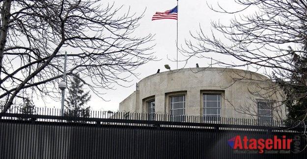 ABD Büyükelçiliği'ne ateş açıldı