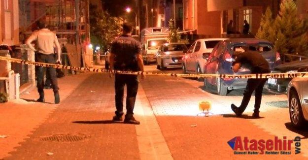 Ataşehir de silahlı saldırı! 1 kişi yaralandı