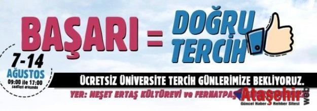 Ataşehir'de Üniversite Adaylarına Tercih Hizmeti