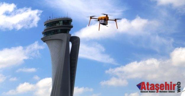 PTT'den Drone'la Kargo Teslimatı