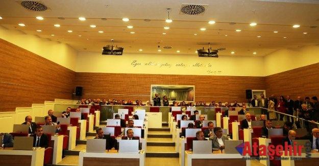 Ataşehir Belediyesi 2019 Bütçesi kabul edildi.
