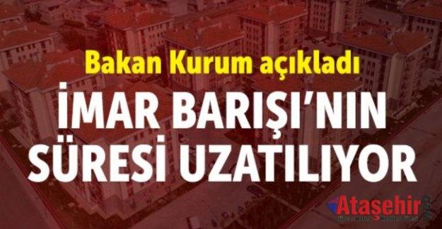 Bakan Murat Kurum, İmar barışı süresi uzatılabilir