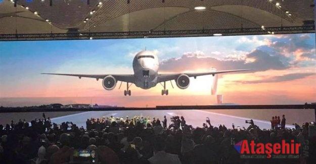 İstanbul Havalimanı Törenle Açıldı
