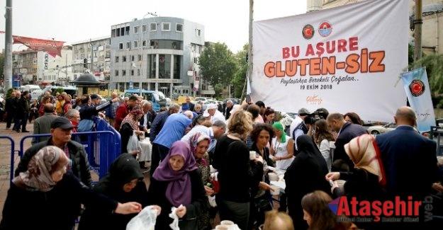 Maltepe'de Glutensiz aşure farkındalık yarattı
