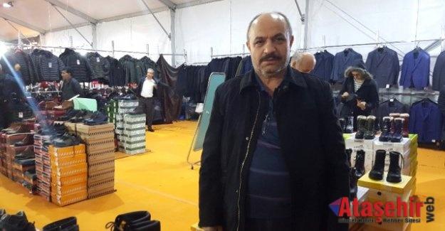 Ataheşir'de Fırsat Çadırına Vatandaşlar Akın Etti