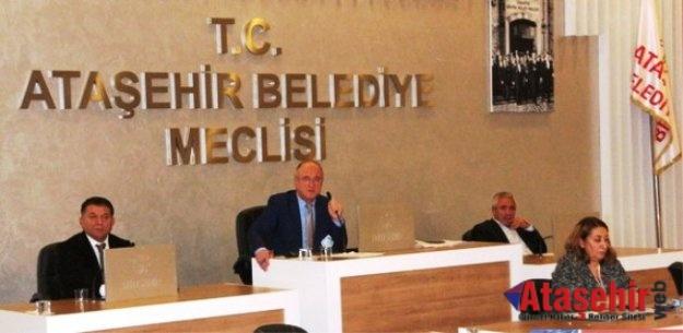 Ataşehir Belediye Meclisi'nin gündemi imar