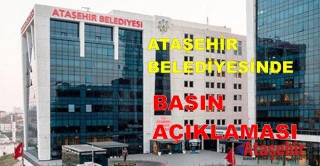 'Ataşehir Belediyesinden Yeşil Alan Vurgunu' İddiasına Açıklama