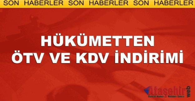 """""""KDV VE ÖTV İNDİRİMİ PİYASALARA HAREKETLİLİK GETİRECEK"""""""