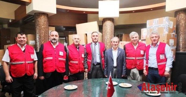 Kızılay Ataşehir Şubesi'nden Okullara Yardım