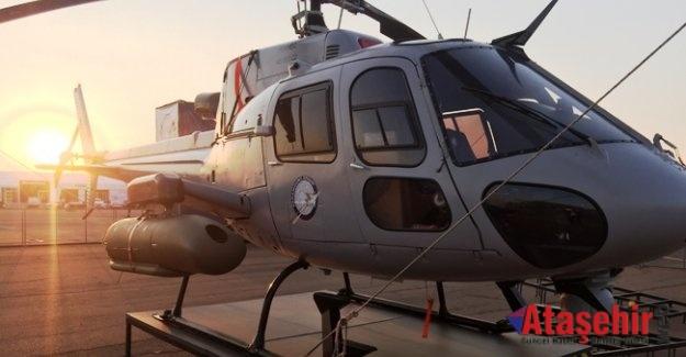 Türk şirketinden önemli başarı Helikopterin taban zırhını yapacak