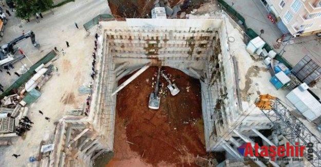 Ümraniye'de yol çöktü! 2 kişinin cansız bedenine ulaşıldı