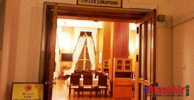 Meclis lokantası, Çorba 1, Kavurmalı Pilav 6 TL.