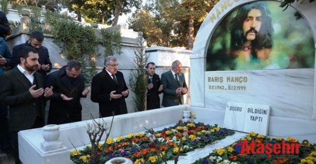 Barış Manço ölümünün 20. yıldönümünde mezarı başında anıldı
