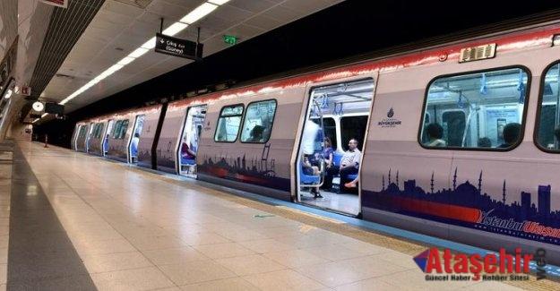 Göztepe-Ataşehir-Ümraniye Metro Hattı