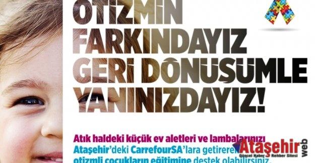 """""""OTİZMİN FARKINDAYIZ GERİ DÖNÜŞÜMLE YANINIZDAYIZ!"""""""
