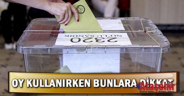 31 Mart seçimlerinde nasıl oy kullanacağız?