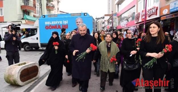 AK Parti Kadın Kolları'ndan şehit ailelerine mektup