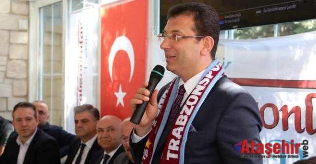 İmamoğlu Trabzonlular Derneği'ni ziyaret etti