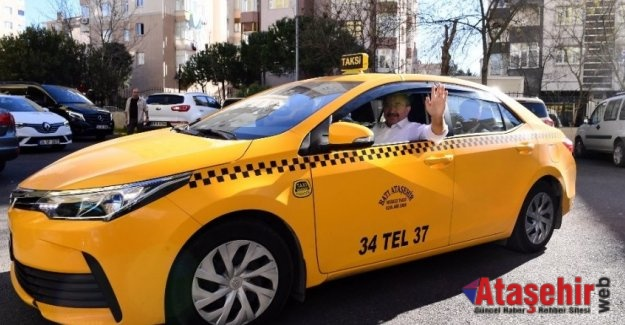 İsmail Erdem taksi şoförü oldu