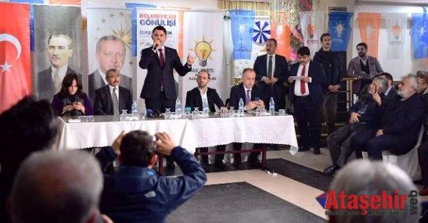 Murat Kurum, Ataşehirlilerin İmar sorunlarını dinledi