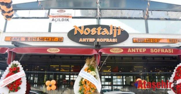 """""""Nostalji Antep Sofrası"""" Yeni Mekanını Açtı"""