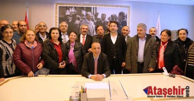 Ataşehir Belediye Başkanı göreve başladı
