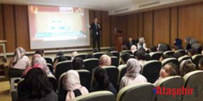 Ataşehir'de öldürücü oyunlara karşı bilinçlenme semineri verildi!