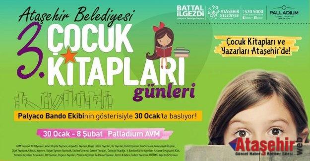 Çocuk Kitapları ve Yazarları Ataşehir'de!