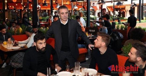 Fenerbahçe moral kahvaltısını Ataşehir'de yaptı