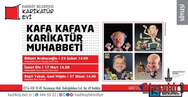 Kafa Kafaya Karikatür Muhabbeti