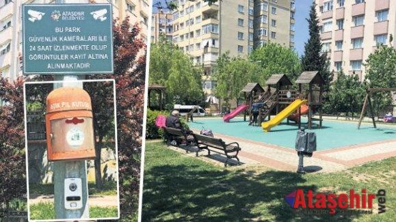 Ataşehir'de Parklar artık daha güvenli