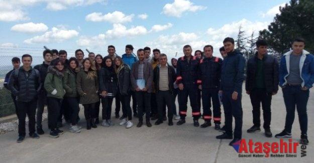Ataşehirli Lise Öğrencilerinden Çatalca Res'e Ziyaret