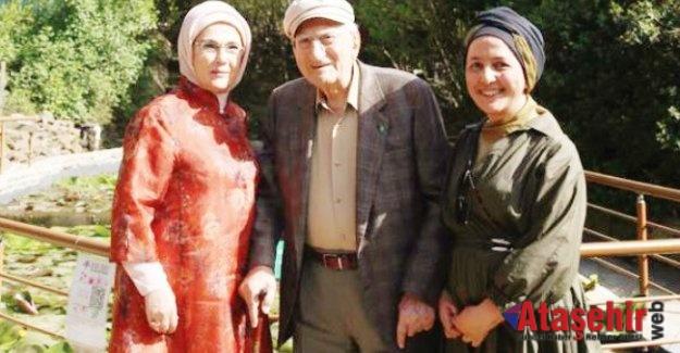 Emine Erdoğan Nezahat Gökyiğit Botanik Bahçesi'ni gezdi.