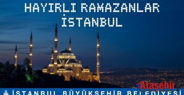 İBB Ramazan etkinlikleri başladı.