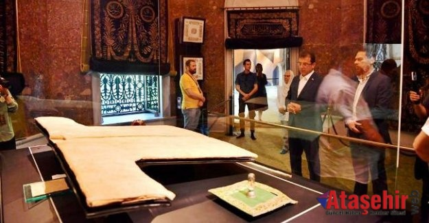 İmamoğlu Hırka-i Şerif'i ziyaret etti:
