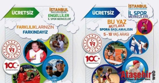 İSTANBUL'DA YAZ SPOR OKULLARI BAŞLIYOR
