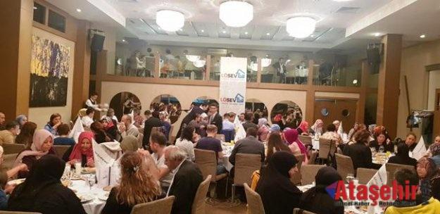 LÖSEV İFTAR YEMEĞİN'DE İSTANBUL'DA Aileler BİR ARAYA GELDİ