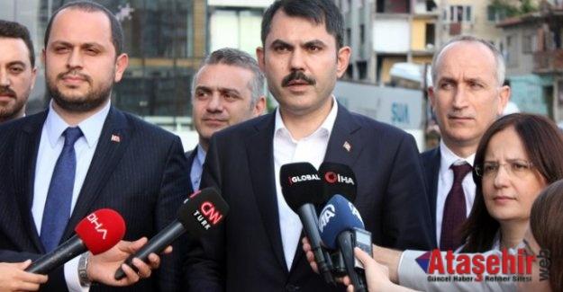 Murat Kurum: Fikirtepe'de metruk bina kalmayacak!
