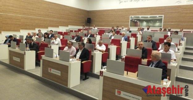 Ataşehir Belediye Meclisi Haziran ayı toplantısı yapıldı
