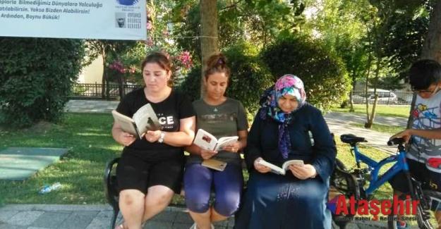 BÜTÜN İSTANBUL'DA PARKLAR KİTAP AÇSIN