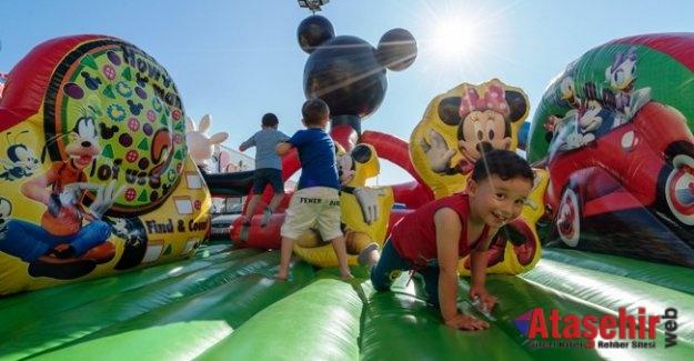 Çocuklar İçin Dev Eğlence Parkuru Maltepe Park'ta!