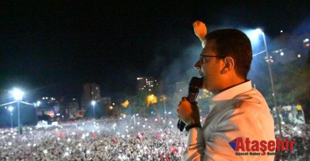 EKREM İMAMOĞLU: İSTANBUL'DA DEMOKRASİYİ TAMİR ETTİNİZ