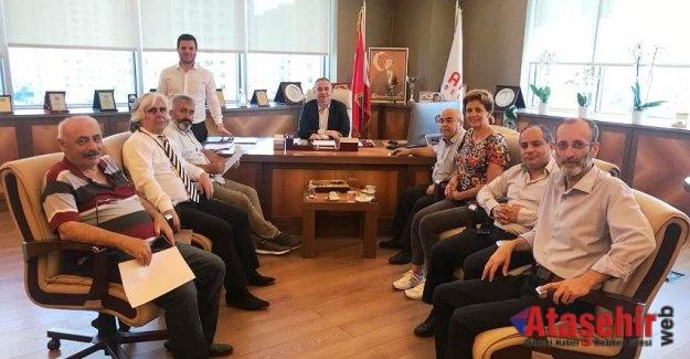 Ekrem Köse'ye Gazetecilerden ziyaret