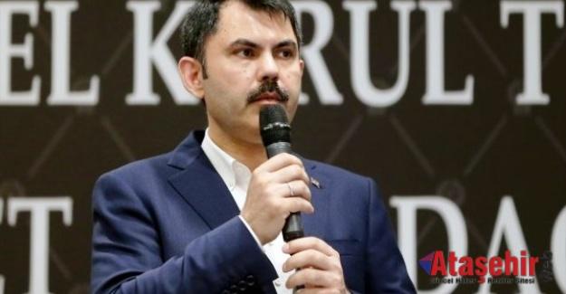 """Murat Kurum, """"Dev projeleri hazırlamaya gayret gösteriyoruz"""""""